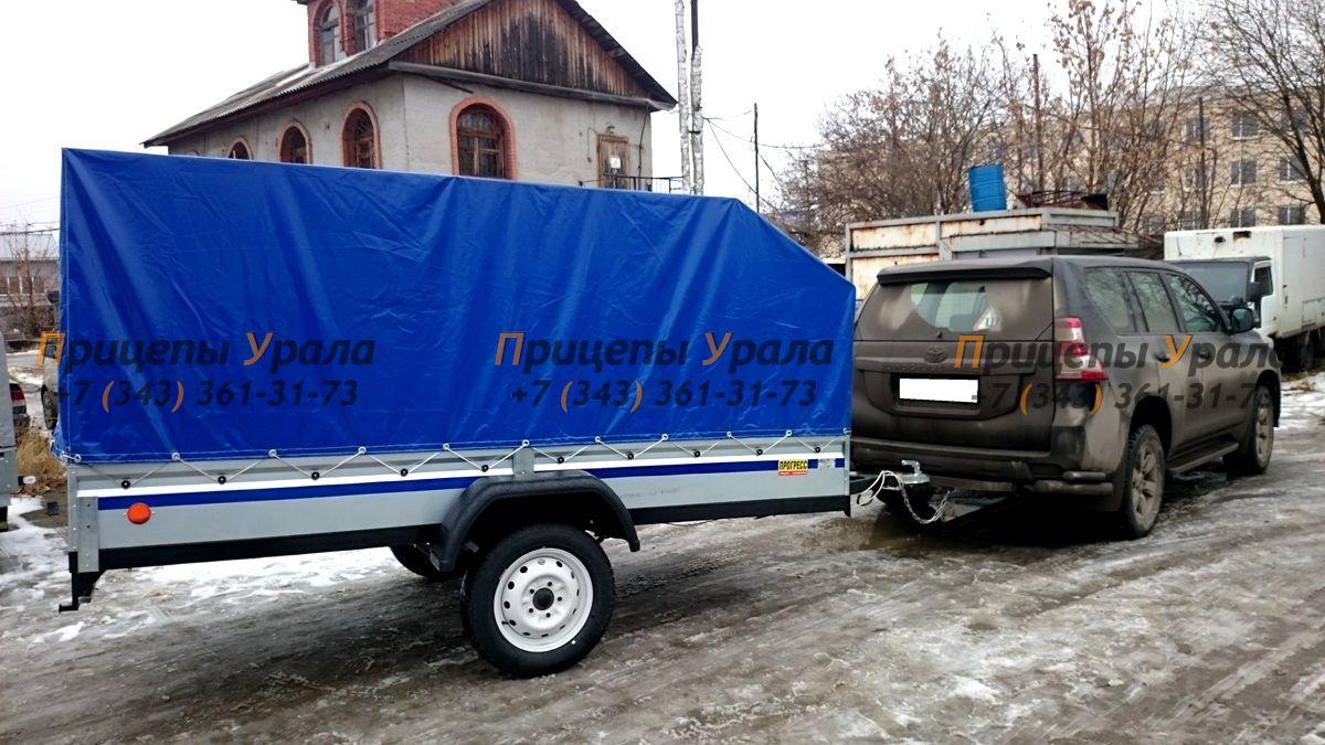 Воронежский прицеп для перевозки снегохода