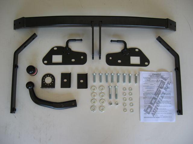 Фаркоп на Mazda 6 (Bosal 4528-A) Съёмный крюк на 2 болтах