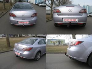 Фаркоп на Mazda 6 (Bosal 4528-A) Седан, Хэтчбэк (2008 - 2013)