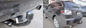 Фаркоп на Mazda CX-7 (Bosal 4526-A) 2007 - 2012 г.