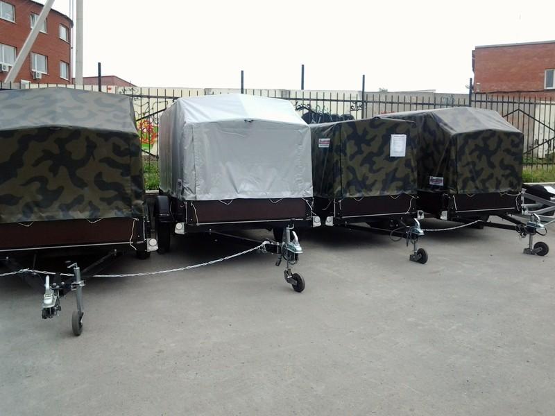 Курганские прицепы в Екатеринбурге