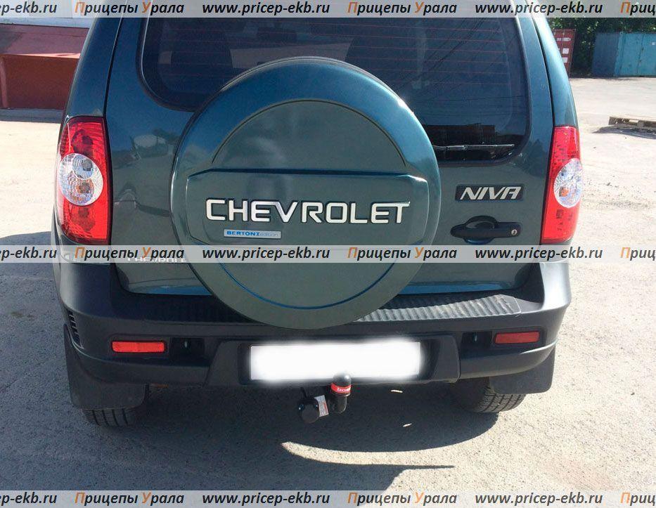 Фаркоп на Chevrolet Niva (Bosal 1223-A) 2002 - настоящее время. 2