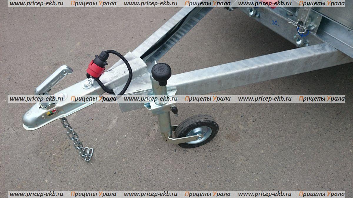 Прицеп Трейлер 829450 (3,5x1,5 РЕС) с пластиковой крышкой