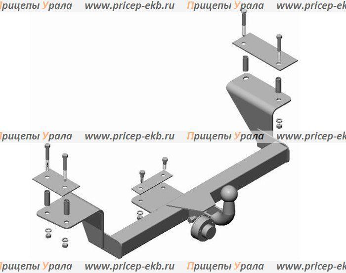 Фаркоп на ВАЗ 2170 (Приора седан) (Трейлер 2170.С)