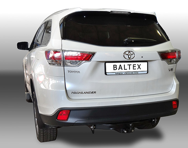 Фаркоп на Toyota Highlander ( Baltex 24.2553.21 ) 2014 - настоящее время