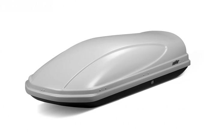 """Автомобильный Бокс на крышу """"KOFFER A-430"""" (430 литров, серый)"""