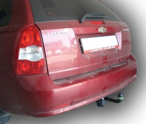 Фаркоп на Chevrolet Lacetti (KLAN) универсал (2004 - ) (Лидер-Плюс C204-A)