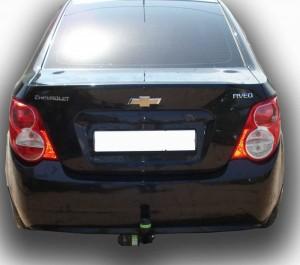 Фаркоп на Chevrolet Aveo (T300) (седан) (2012 - ) (Лидер-Плюс C215-A)