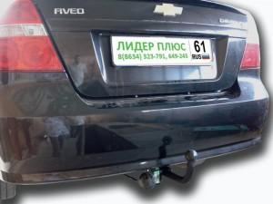 Фаркоп на Chevrolet Aveo (T250) седан (2006-2011) (Лидер-Плюс C207-A)