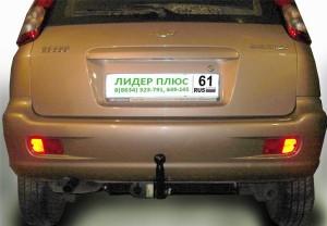 Фаркоп на Chevrolet Rezzo (KLAU) (минивен)  (2004 - ) (Лидер-Плюс C209-A)