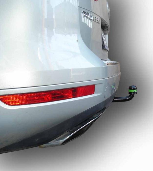 Фаркоп на Audi Q7 (2005-2015), Volkswagen Touareg (2002-2010, 2010-) (Лидер-Плюс V124-A)