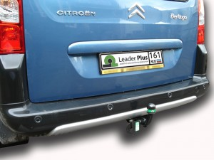 Фаркоп на Citroen Berlingo 2 L1 (B9) (2008 -), Peugeot Partner II L1 (B9), Partner Teppe (2008-) (Лидер-Плюс C302-A)