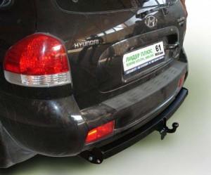 Фаркоп на Hyundai Santa Fe Classic (2001-2006), Тагаз Santa Fe Classic (2007-) (Лидер-Плюс H205-A)
