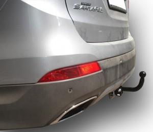 Фаркоп на Hyundai Santa Fe дизель (2012-2015), Kia Sorento (2012-) (Лидер-Плюс H224-A)