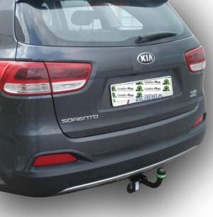 Фаркоп на Hyundai Santa Fe дизель (2015-), Kia Sorento дизель (2015-) (Лидер-Плюс K121-A)