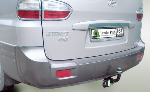 Фаркоп на Hyundai H1 H1,Starex минивен (2Wd, Задняя Рессорная Подвеска)  (2004-2007)  (Лидер-Плюс H220-A)