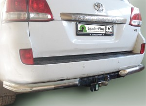 Фаркоп на Lexus LX 570 (2007-), Toyota Land Cruiser 200 (2007-) (Лидер-Плюс T110-F)