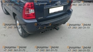 Фаркоп на Hyundai Tucson (2004-2010), Kia Sportage (2005-2010) (Лидер-Плюс H204-A)