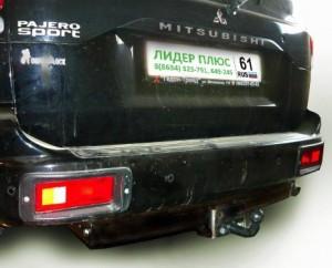 Фаркоп на Mitsubishi Pajero Sport  (1998-2008) (Лидер-Плюс M107-F)