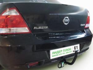 Фаркоп на Nissan Almera Classic седан (2006-2013) (Лидер-Плюс N110-A)