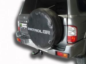 Фаркоп на Nissan Patrol (1997 - 2010) (Лидер-Плюс N123-A)