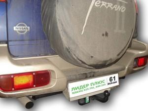 Фаркоп на Nissan Terrano 2 (1993-2002) (Лидер-Плюс N112-A)