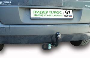 Фаркоп на Renault Scenic 2 (2003-2009) (Лидер-Плюс R105-A)