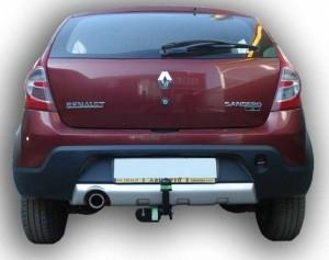 Фаркоп на Renault Sandero Stepway (2009-2014) (Лидер-Плюс R110-A)