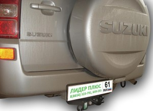 Фаркоп на Suzuki Grand Vitara с двиг. 1,6, 3,2 л (5 Дверей) (2005-2015) (Лидер-Плюс S402-FC)