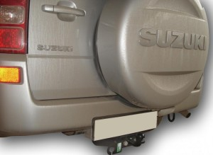 Фаркоп на Suzuki Grand Vitara с двиг. 2.0, 2.4 л (5 Дверей) (2005-2015) (Лидер-Плюс S406-F)
