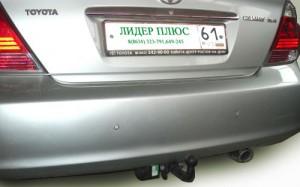 Фаркоп на Toyota Camry (V30) седан (2002-2006) (Лидер-Плюс T104-A)