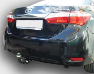 Фаркоп на Toyota Corolla седан (2007-2013), Corolla седан (2013-) (Лидер-Плюс T117-A)