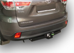 Фаркоп на Toyota Highlander (2013-) (Лидер-Плюс T120-F)