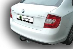 Фаркоп на Skoda Rapid лифтбэк (2012-), Volkswagen  Polo седан (2010-) (Лидер-Плюс V125-A)