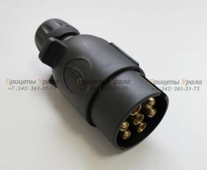 Вилка пластиковая 7-ми контактная