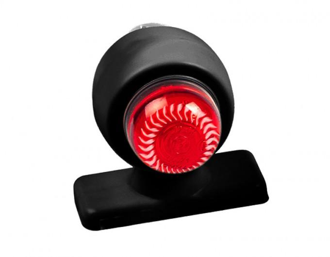 """Фонарь габаритный бело-красный """"хрусталик"""" (светодиодный) ГФ 3.2 LED1-20/21"""