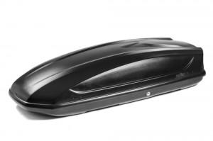 """Автомобильный Бокс на крышу """"KOFFER A-440""""  (440 литров, черный)"""