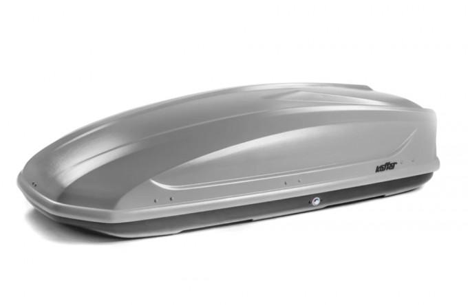 """Автомобильный Бокс на крышу """"KOFFER A-440"""" (440 литров, серый)"""