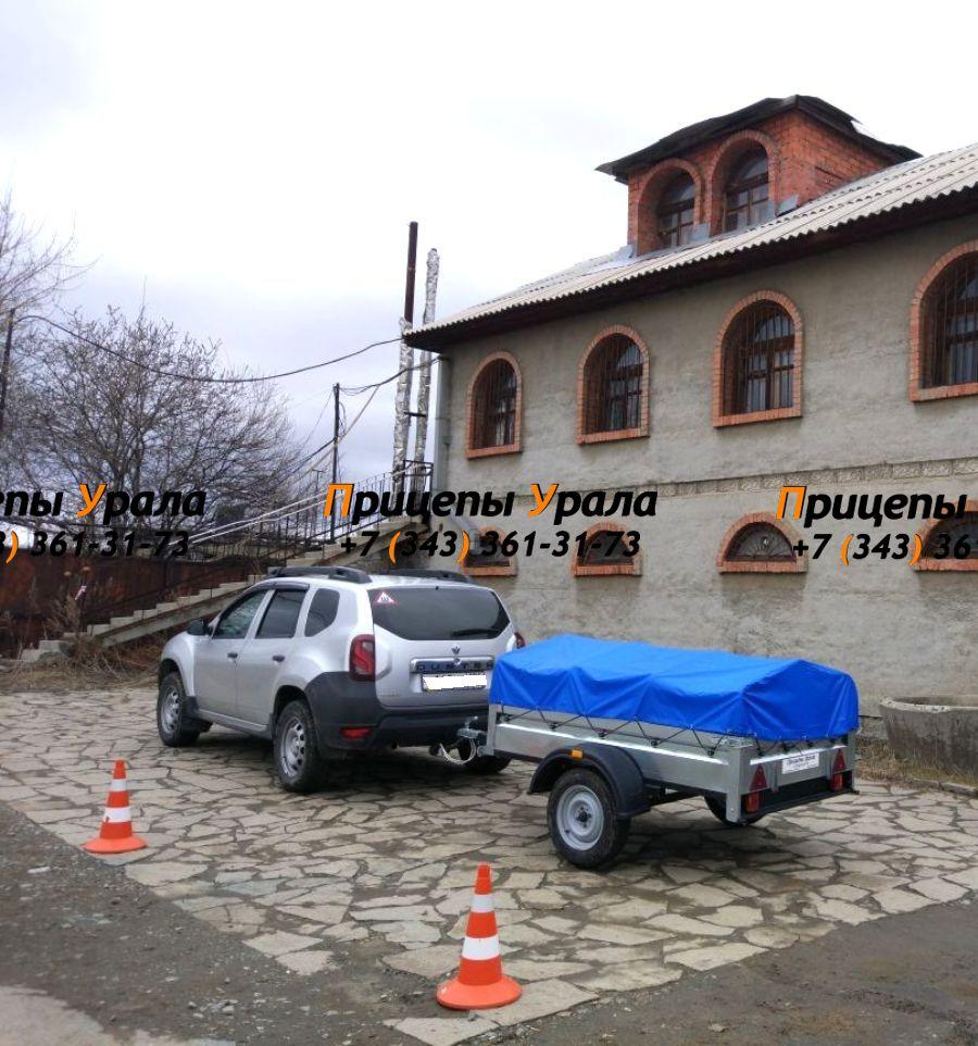 Автоприцеп Кремень 2,0 Стандарт и Рено