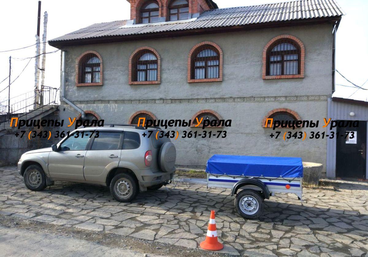 Легковой прицеп Престиж в Екатеринбурге