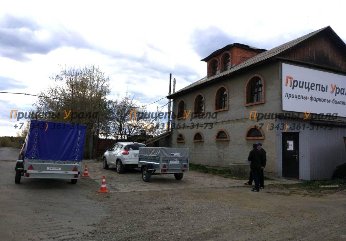 Сразу несколько покупателей прицепов в магазине Прицепы Урала на Космонавтов, 81а
