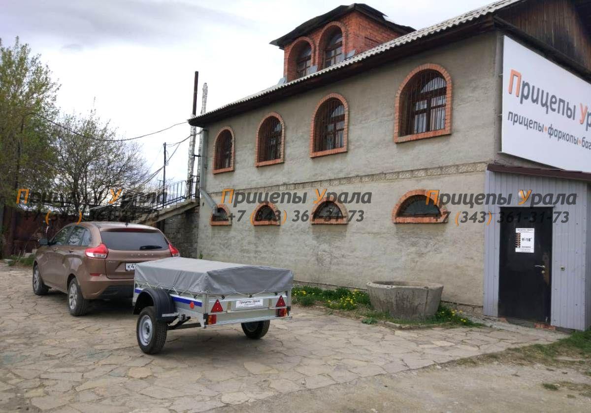 Прицеп Цинк-Мастер в магазине Прицепы Урала