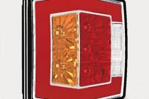 Фонарь задний светодиодный FT-122T с подсветкой номера