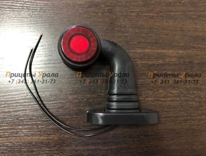 Фонарь габаритный бело-красный (светодиодный) ОГ-36 LED