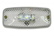 Фонарь габаритный белый (светодиодный) без кронштейна ЕС 04.Б (ЕС 04.Б-001)