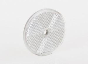 Отражатель белый (круглый) с центральным отверстием