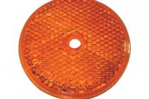 Отражатель оранжевый (круглый) с центральным отверстием