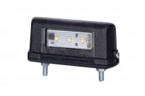 Фонарь подсветки номера (светодиодный) черный EC 10 LED