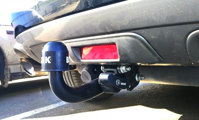 Быстросъемный фаркоп для Nissan Murano (2008-2014) (Brink 467000)