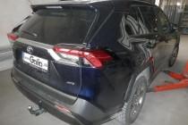 Полностью ОЦИНКОВАННЫЙ фаркоп на Toyota RAV4 V XA50 (2019-) Горизонтальный быстросъем (Galia T072C)